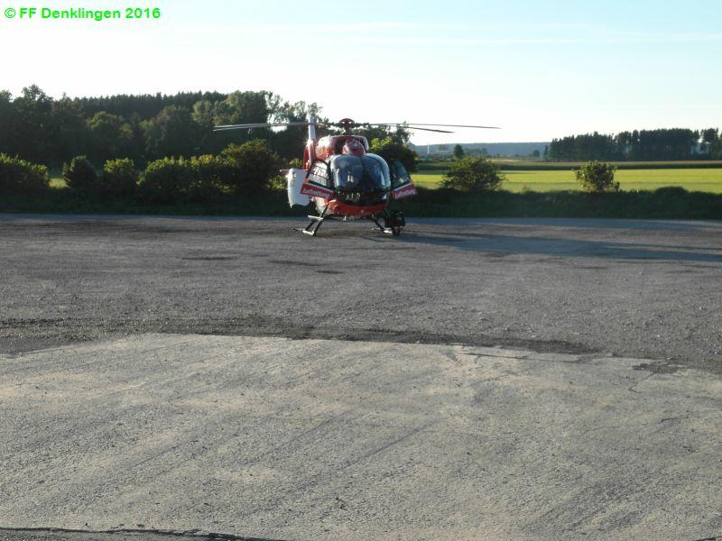 (c) Feuerwehr Denklingen: 13.08.2016 - 18:45 Uhr - Verkehrsunfall, B17