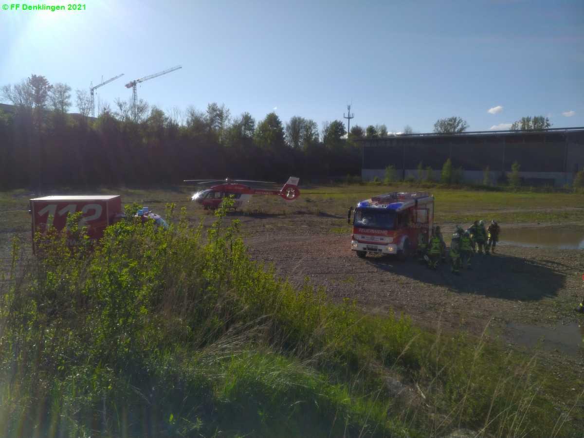 (c) Feuerwehr Denklingen: 23.05.2021 - 17:52 Uhr - Unterstützung Rettungsdienst, Denklingen