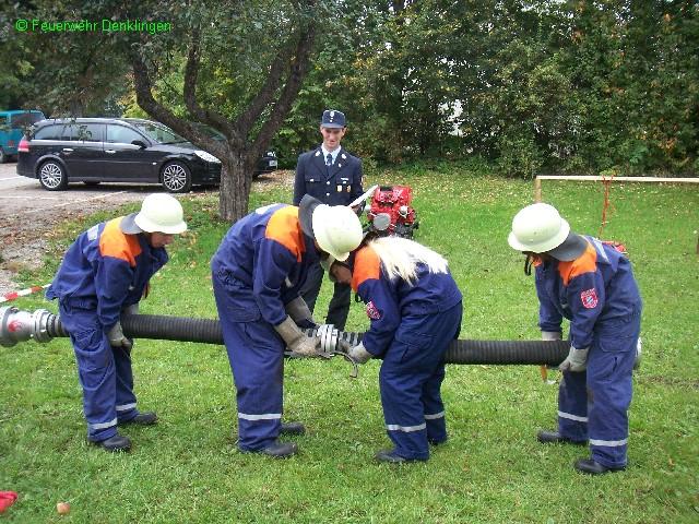 (c) Feuerwehr Denklingen: 06.10.07 - JF Wettbewerb in Riederau