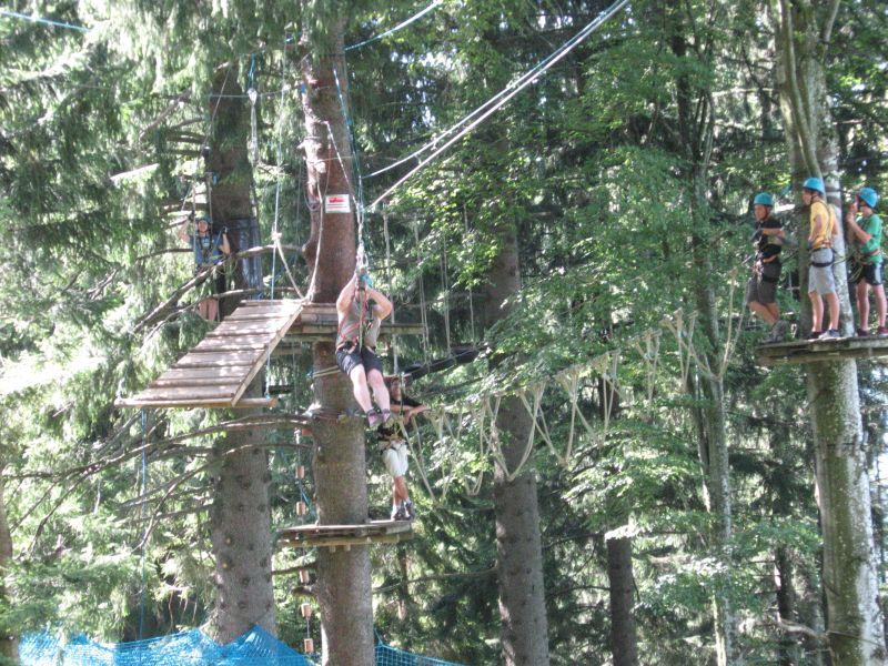 (c) Feuerwehr Denklingen: 21.08.11 - Jugendfeuerwehrausflug Klettergarten
