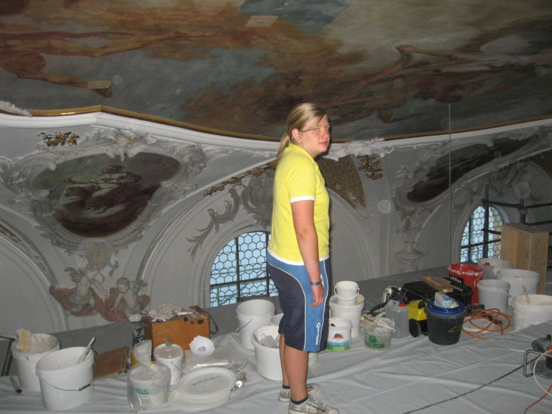 (c) Feuerwehr Denklingen: 29.08.11 - Kirchenbesichtigung