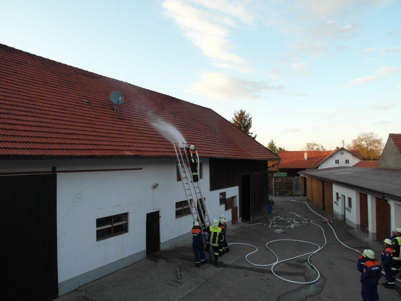 (c) Feuerwehr Denklingen: 07.05.12 - Objektübung
