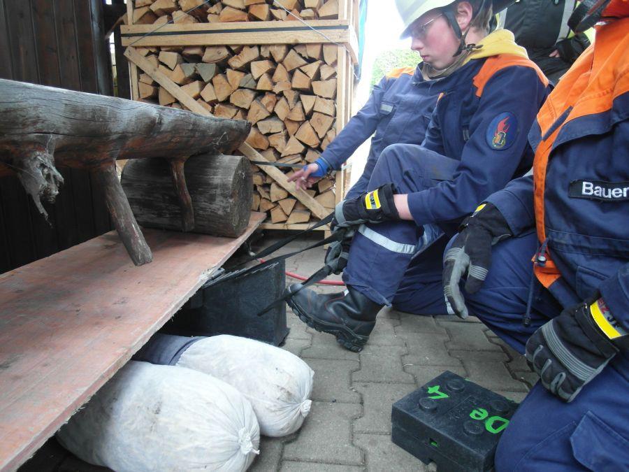 (c) Feuerwehr Denklingen: 13.05.13 - Gemeinschaftsübung mit Epfach
