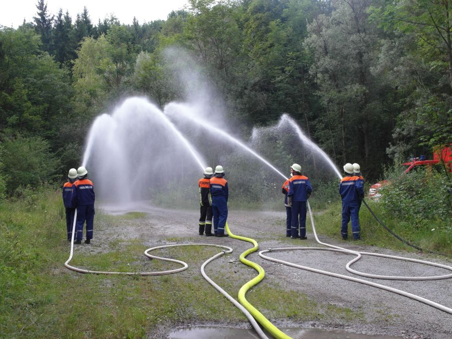 (c) Feuerwehr Denklingen: 28.07.14 - Wasserentnahme, Epfach