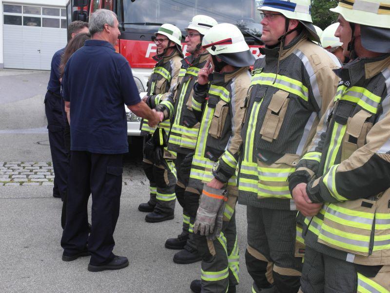 (c) Feuerwehr Denklingen: 27.06.16 - LAZ Löschen