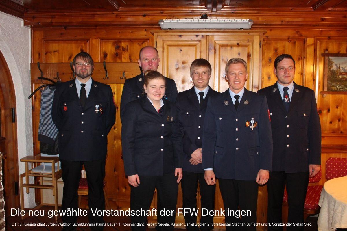 (c) Feuerwehr Denklingen: 27.03.17 - Jahreshauptversammlung 2017