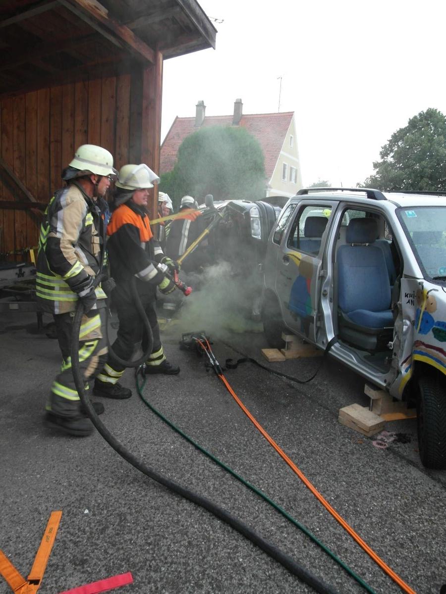 (c) Feuerwehr Denklingen: 10.07.17 - Gemeinschaftsübung THL