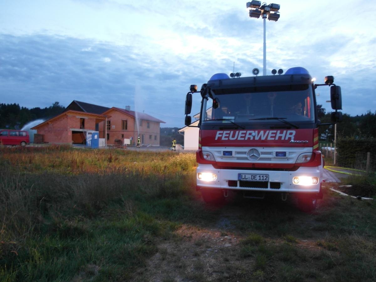 (c) Feuerwehr Denklingen: 04.09.17 - Objektübung in Dienhausen
