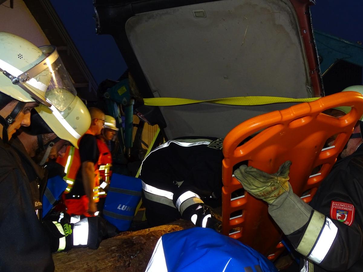 (c) Feuerwehr Denklingen: 17.09.18 - THL Gemeinschaftsübung