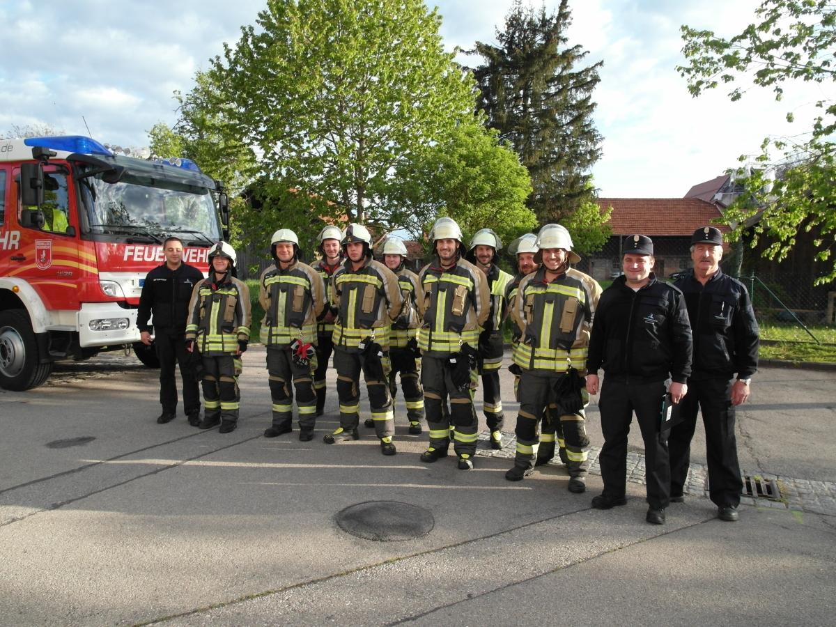 (c) Feuerwehr Denklingen: 10.05.19 - LAZ THL